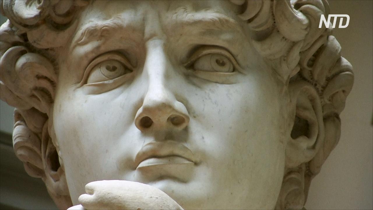 Искусство и технологии: как во Флоренции делают 3D-копию статуи Давида