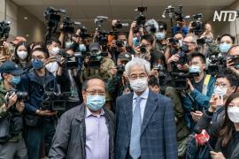 Гонконгские активисты прибыли в суд, чтобы заслушать приговоры