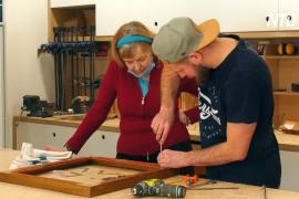 Петербуржцев бесплатно учат ремёслам в общественных мастерских