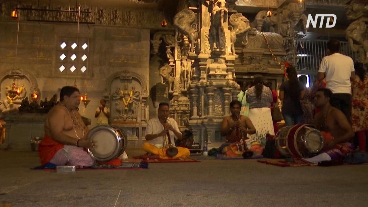 На Шри-Ланке отпраздновали тамильский Новый год