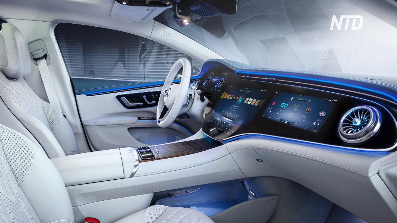 Daimler показала электрический флагман Mercedes-Benz S-класса
