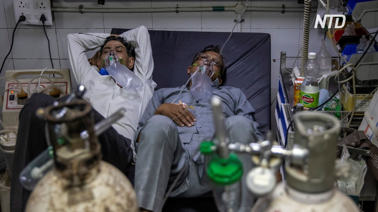 По два пациента на койку: Индия бьёт антирекорды по коронавирусу