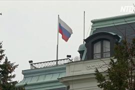 Чехия и Россия высылают дипломатов из Москвы и Праги