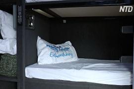 Бездомным Австралии предлагают переночевать в автобусе