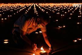 Тайский храм побил рекорд Гиннесса в честь Дня Земли