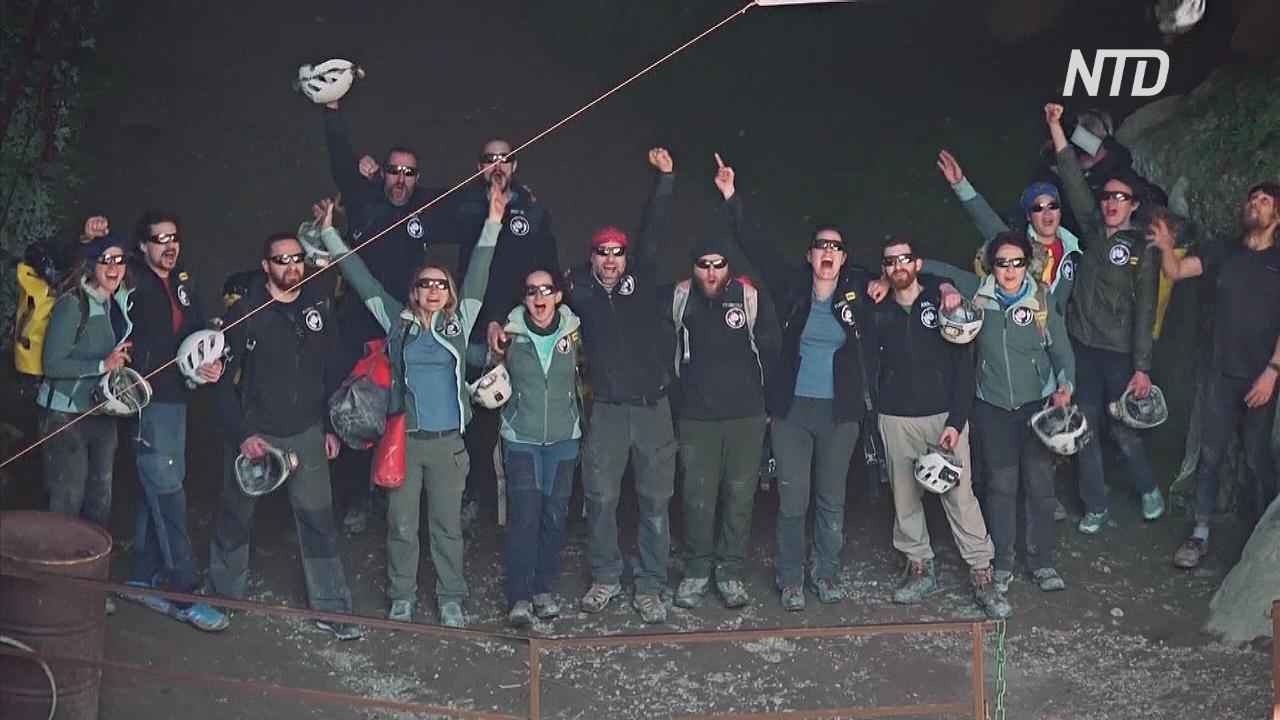 40 дней в пещере: 15 добровольцев вышли из самоизоляции на дневной свет