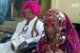 105-летний индиец и его 95-летняя жена победили COVID-19