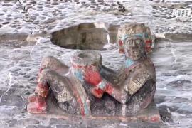 Храм ацтеков в Мехико снова принимает гостей после года закрытия