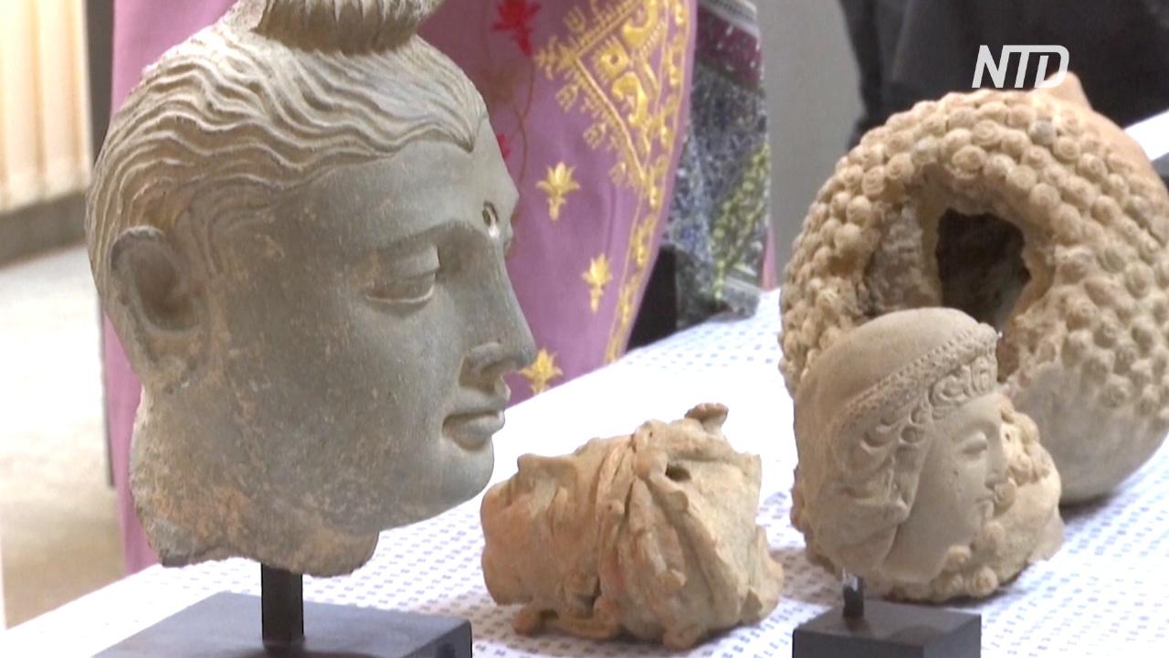 В Афганистан из США вернулись 33 артефакта, вывезенных контрабандистами