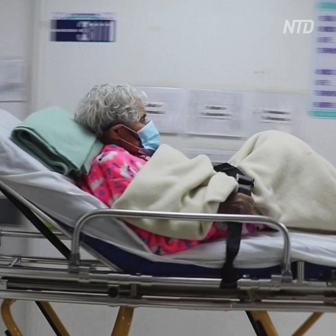 104-летняя колумбийка дважды переболела COVID-19