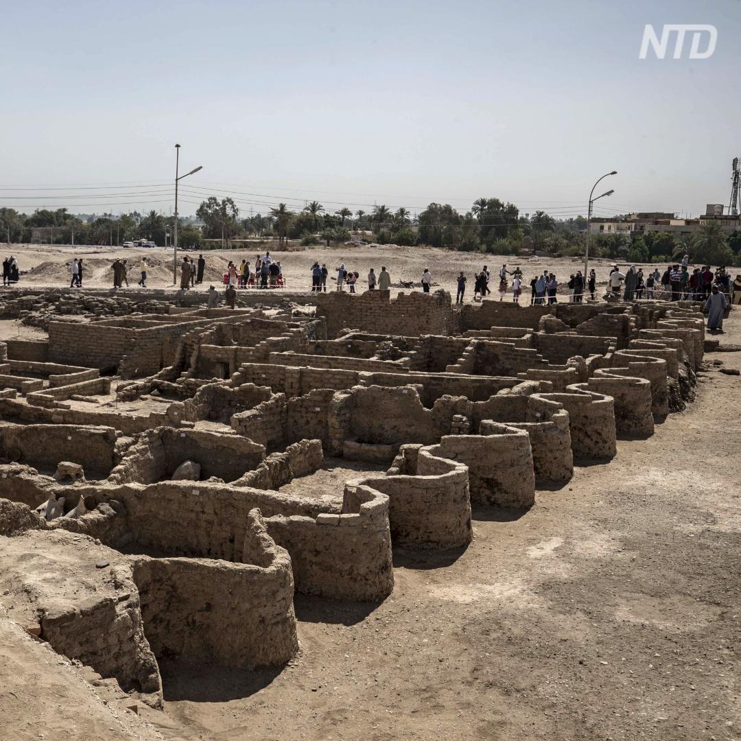 Затерянный город возрастом 3400 лет: что нашли в нём археологи