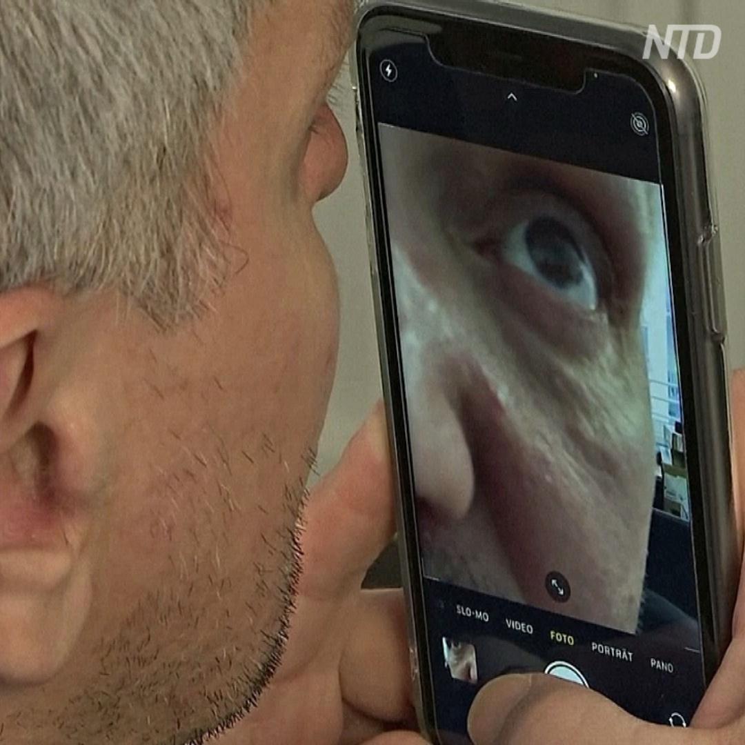 Новый тест на COVID: просто сканируем глаз и получаем результат через 3 минуты