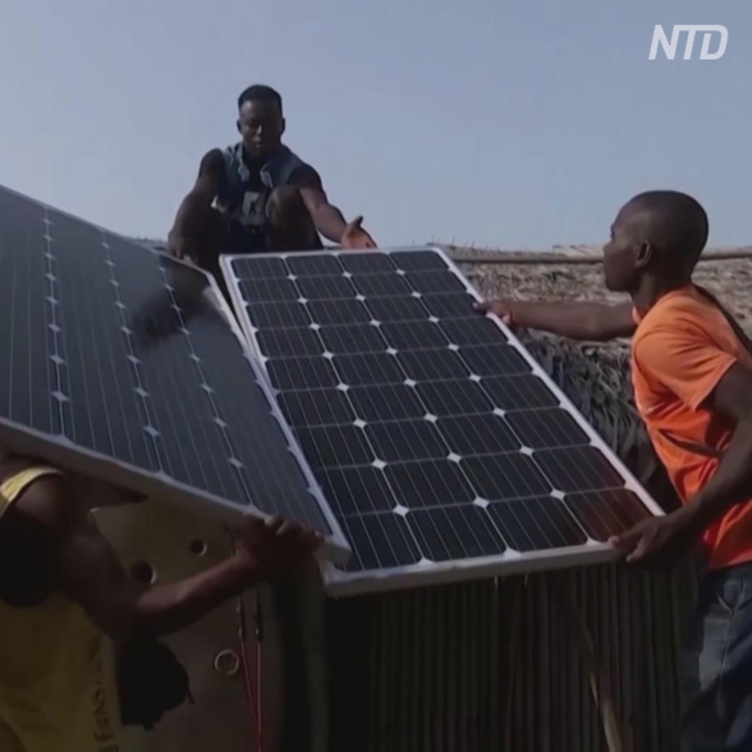 «Солнечные» морозильники: решение для деревень Африки без электричества