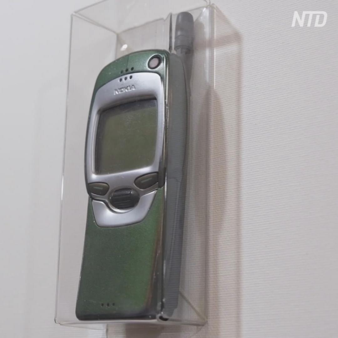 Выставка мобильных ретротелефонов прошла в Минске