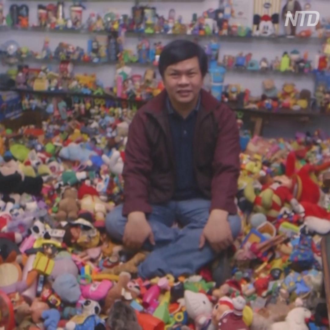 20 000 игрушек из ресторанов фастфуда: коллекция филиппинца