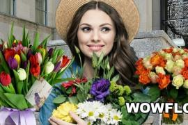 Букет из живых цветов с доставкой по Москве
