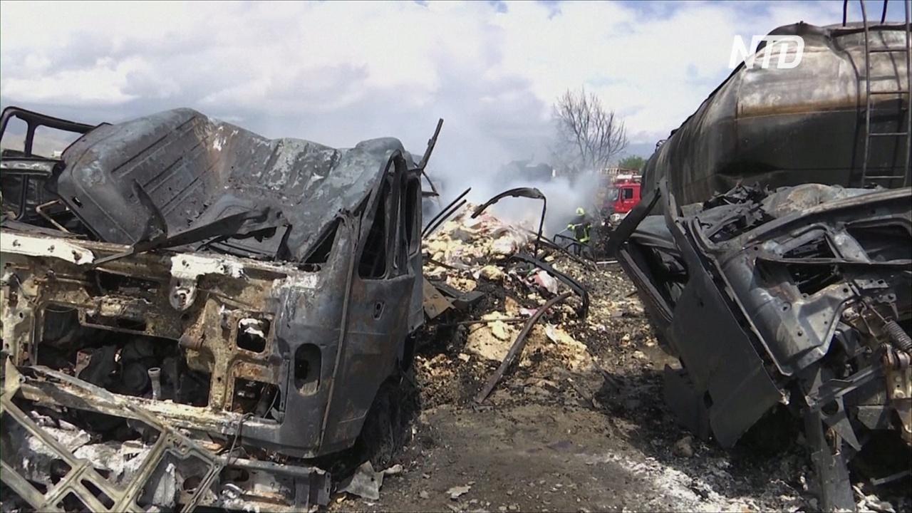 Взыв бензовозов в Кабуле: не менее 9 погибших