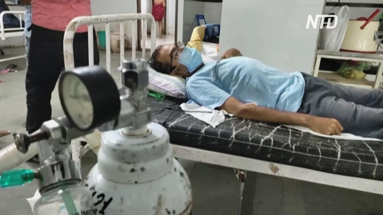 Переполнены морги и больницы: в Индии 12 дней подряд – более 300 тысяч случаев COVID-19 за сутки