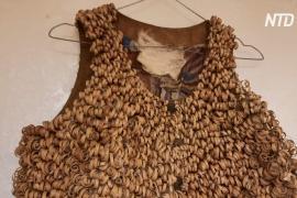 Платья из сена и шляпы из ириса представили в Петербурге