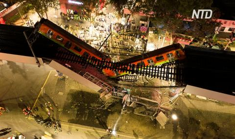 Родственники жертв обрушения метромоста в Мехико до сих пор ищут своих близких