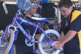 Ремонт велосипедов помогает перевоспитывать трудных подростков в Австралии