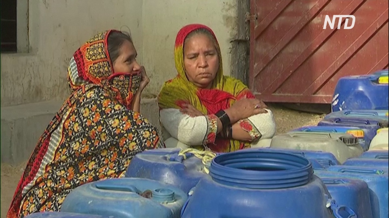 Хроническая засуха и плохое управление лишает жителей Карачи воды
