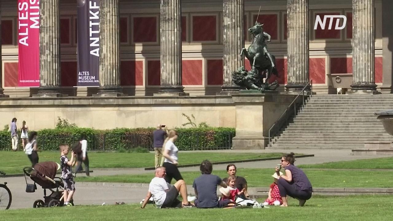 В Германии открываются рестораны, кафе и пивные сады