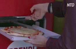 Итальянская пицца из торгового автомата: жителей Рима удивили новшеством