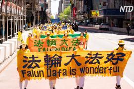Масштабный парад на Манхэттене: 13 мая празднуют Международный день Фалунь Дафа