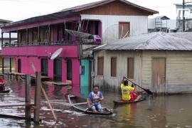 Феномен Ла-Нинья принёс сильнейшие наводнения в Бразилию