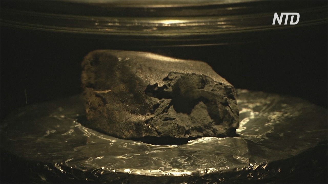 Метеорит возрастом 4,5 млрд лет представляют в лондонском музее