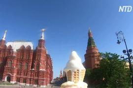 В Москве установилась аномальная жара