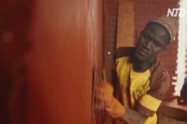 Сенегальцы делают кирпичи из земли, чтобы строить дома, сохраняющие прохладу