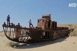 Фестиваль на дне пересохшего Арала в Узбекистане проливает свет на экологическую катастрофу