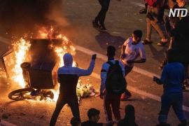 Сотни мигрантов столкнулись с полицией Марокко на границе с испанской Сеутой
