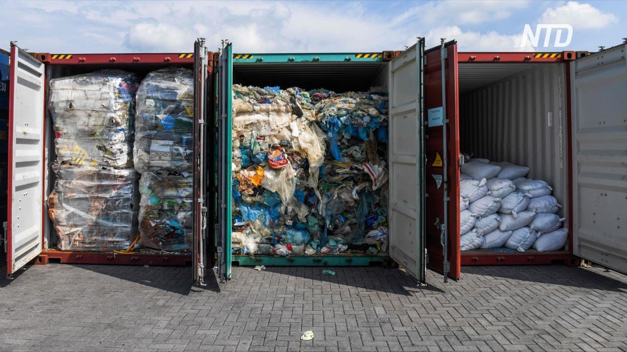 Турция запретила импорт пластиковых отходов
