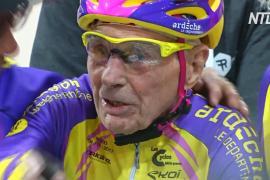 Французский велосипедист-долгожитель и рекордсмен умер в возрасте 109 лет