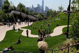 В Нью-Йорке появился новый парк с захватывающим видом