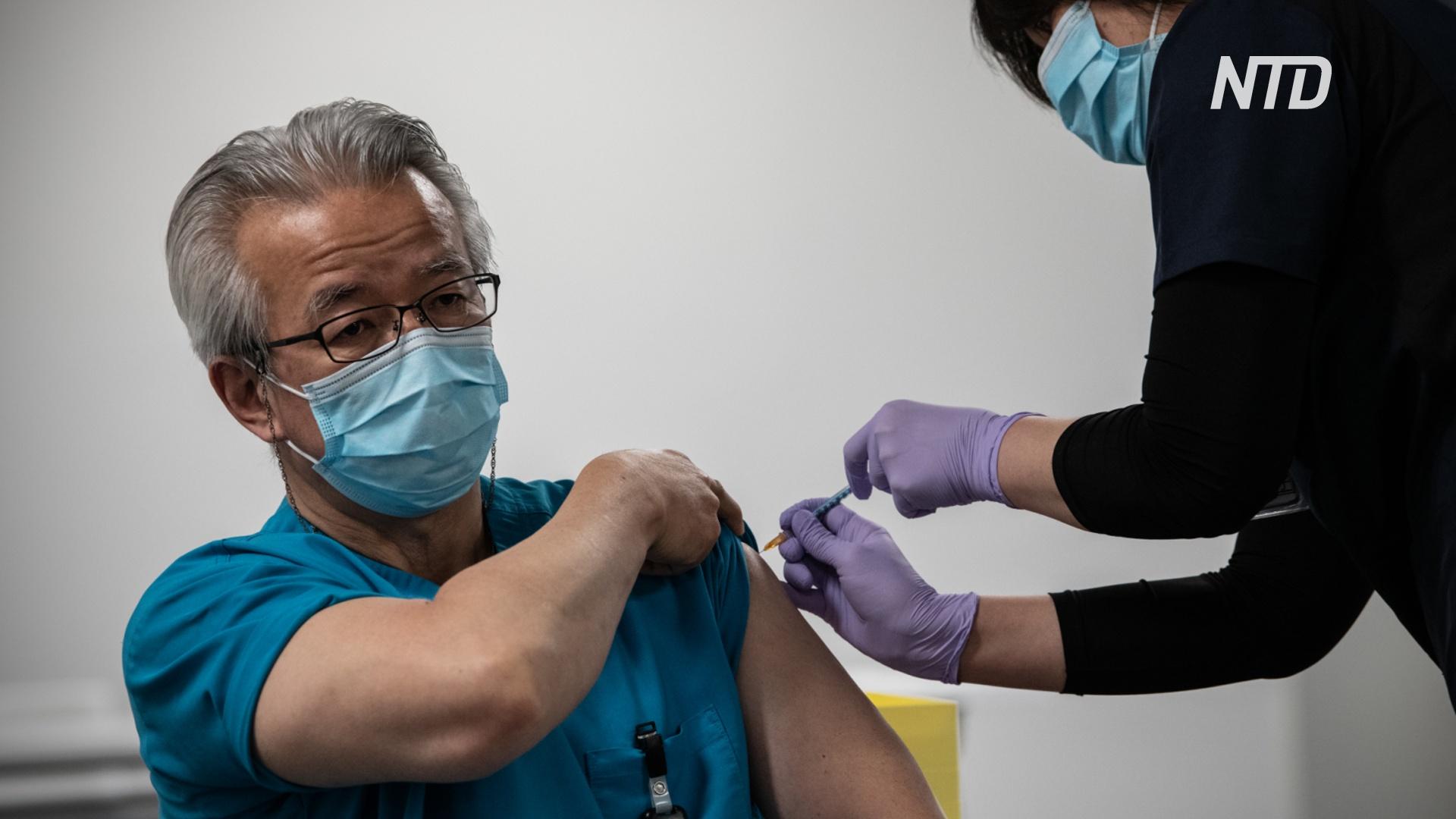 В преддверии Олимпиады Япония открыла центры массовой вакцинации от COVID-19