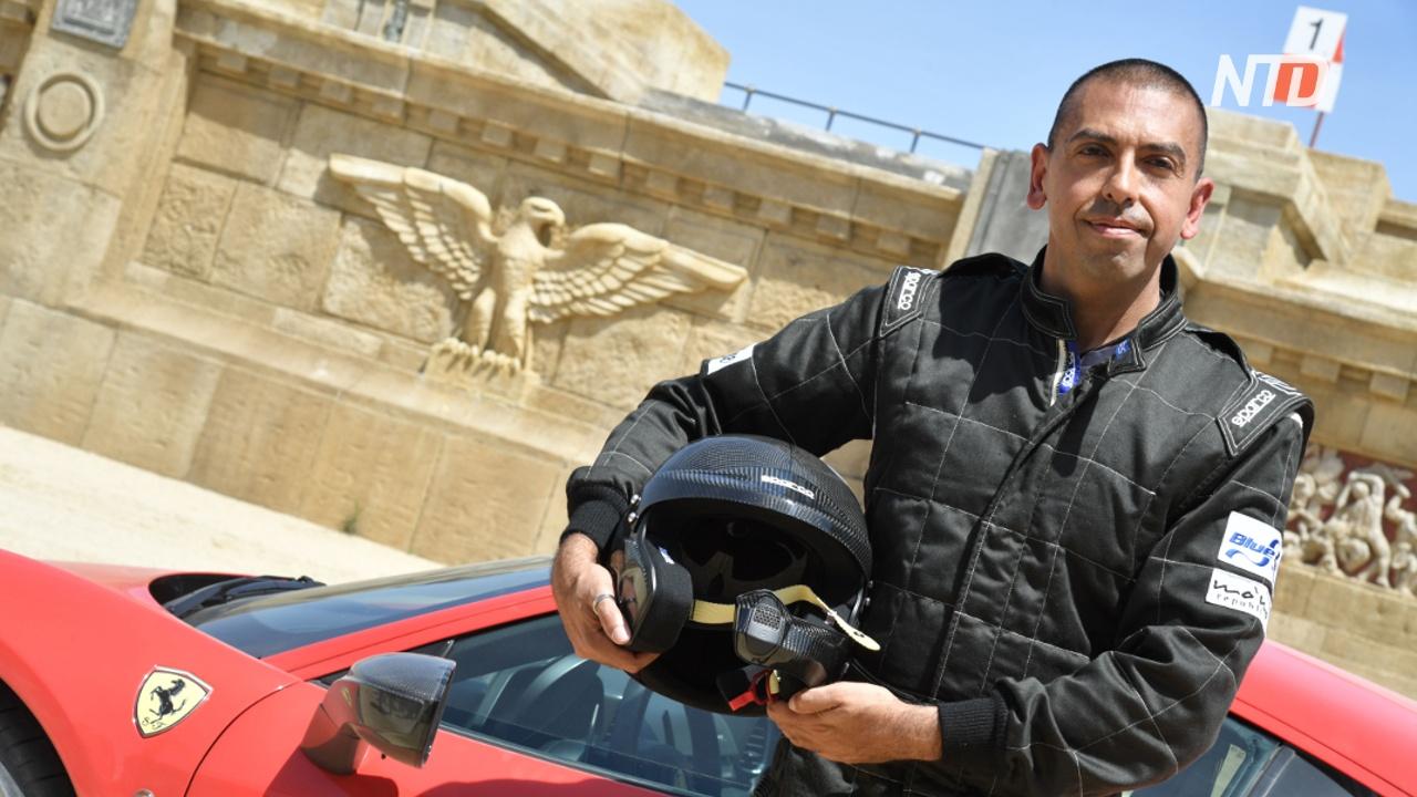 Автогонщик проехал на Ferrari по опасной дороге в Италии за рекордное время
