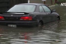 Сотни новозеландцев эвакуировались из-за наводнения в Кентербери