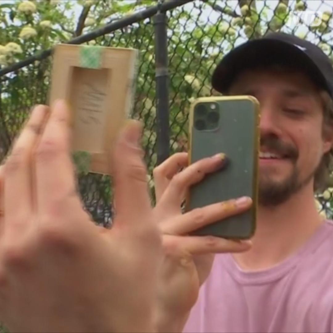 Как нью-йоркский художник играет с подписчиками в прятки