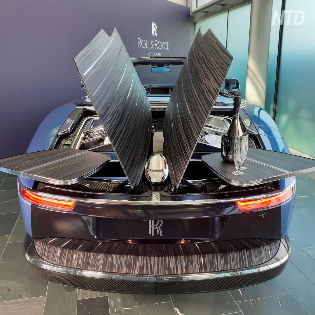 Как выглядит «самый изысканный набор для пикника на Земле» от Rolls-Royce
