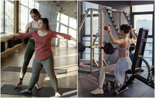 Что лучше для похудения, тренировки по фитнесу или тренажерный зал?