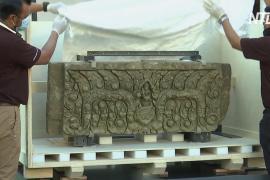 В Таиланд вернулись древние артефакты, украденные в прошлом веке