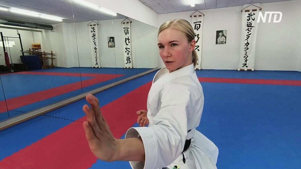 Еда, сон и тренировки: немецкая каратистка стремится попасть на Олимпиаду-2020