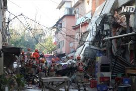 В Бразили рухнул жилой дом, есть жертвы