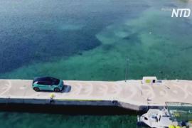 Греческий остров заменит все автомобили на электрические