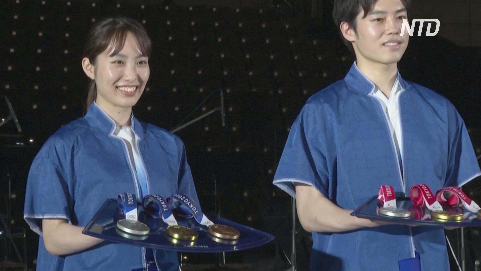 За 50 дней до Игр-2020 в Токио представили пьедестал и музыку для церемонии награждения
