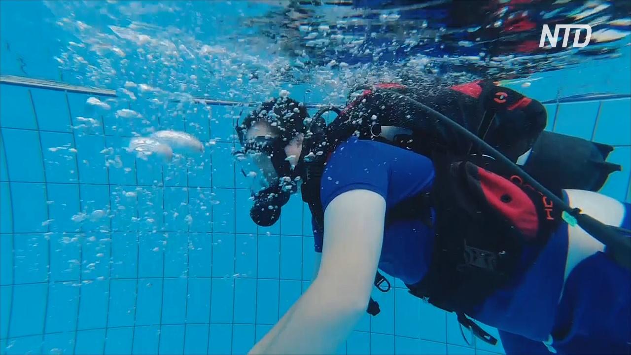 В Австралии подводное плавание помогает аутистам избавиться от замкнутости